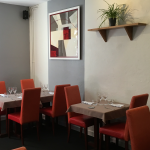 Notre première salle de restaurant.